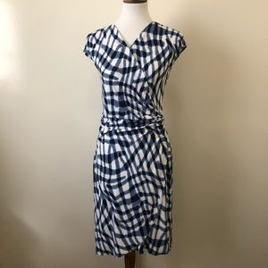 Tommy Bahama Blue & White Dress Sz S/P